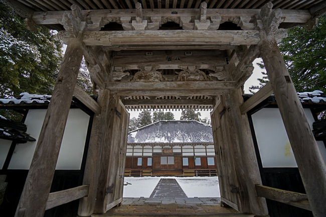 冬の国分寺
