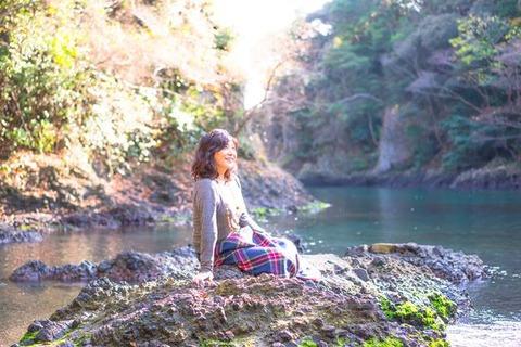 佐渡虫谷の入り江5