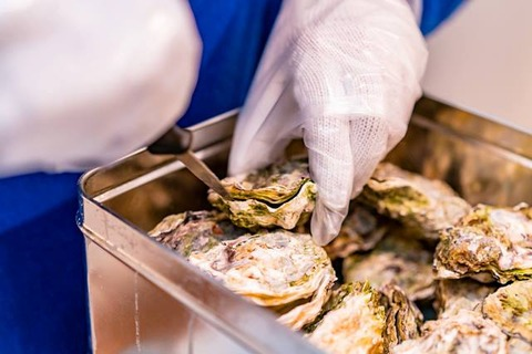 佐渡牡蠣のガンガン焼き12