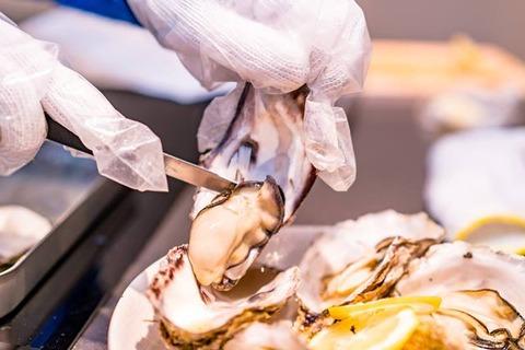 佐渡牡蠣のガンガン焼き9
