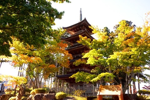 佐渡妙宣寺五重の塔