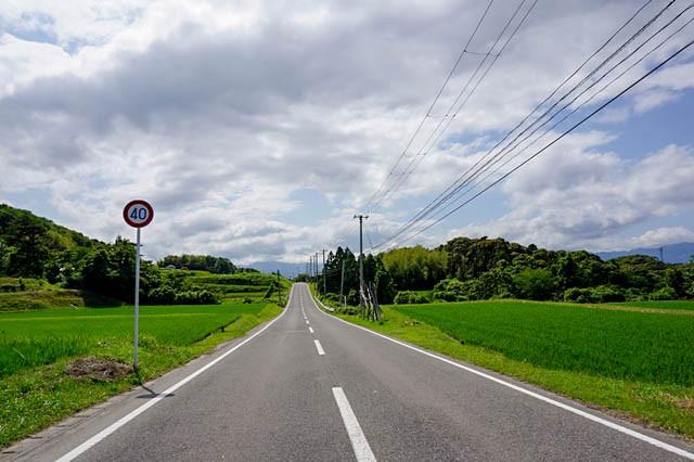 佐渡の道路