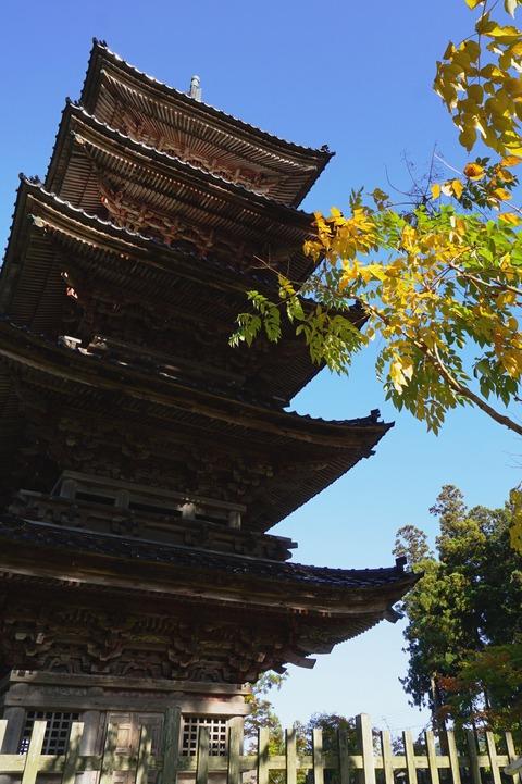 佐渡妙宣寺五重の塔3