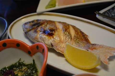 佐渡みなみ旅館焼き魚