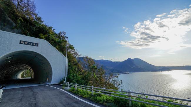 跳坂トンネル
