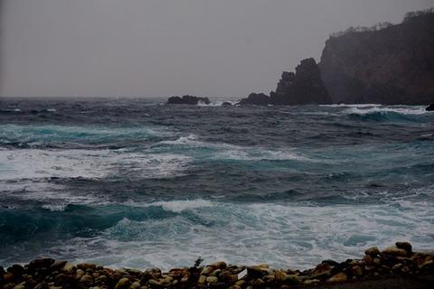 冬はさみ岩周辺1