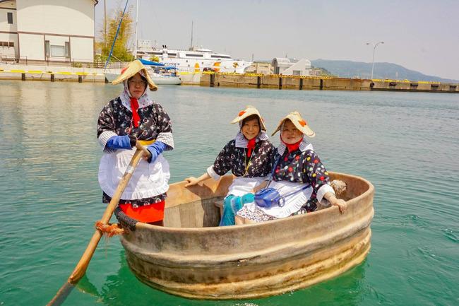 力屋観光たらい舟船頭5