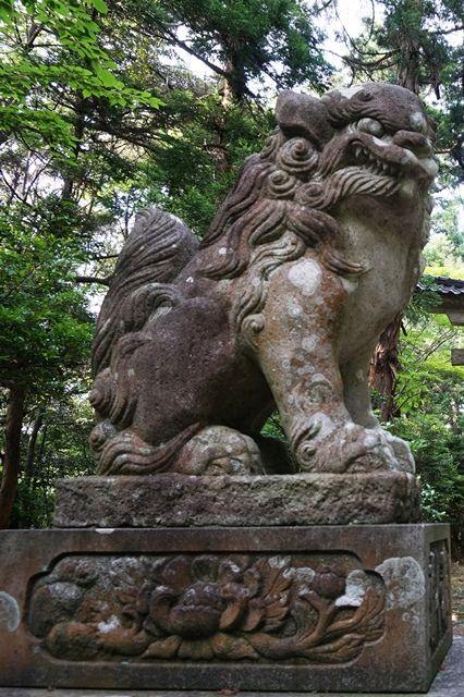 佐渡牛尾神社狛犬1