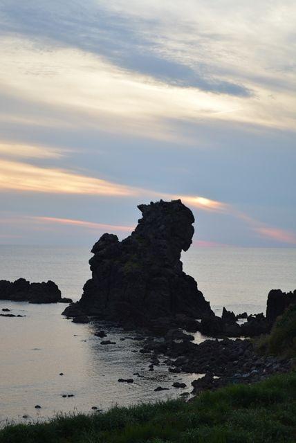 佐渡相川獅子岩