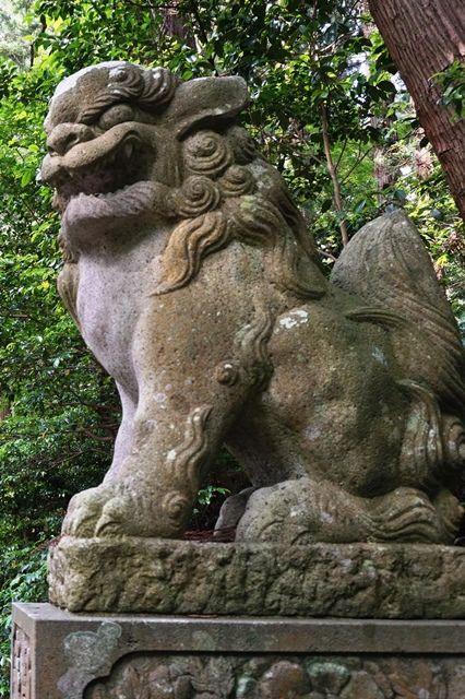 佐渡牛尾神社狛犬