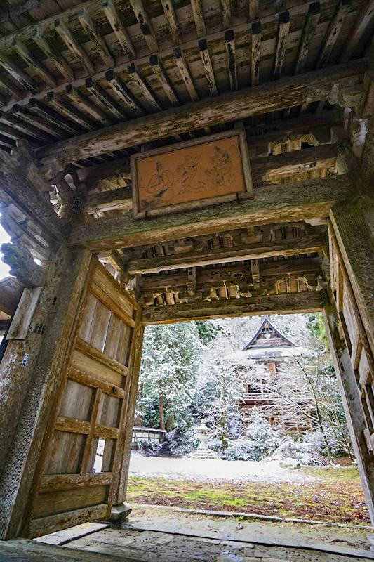 佐渡清水寺冬2