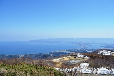 ドンデン山荘からの眺め