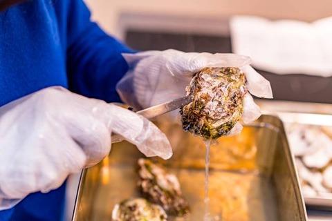 佐渡牡蠣のガンガン焼き8