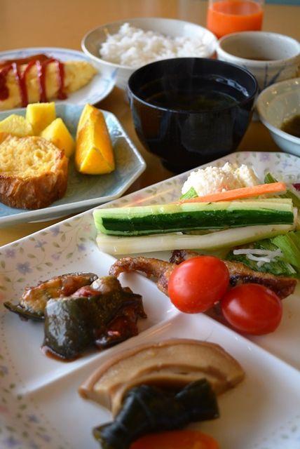 ホテル大佐渡朝食1