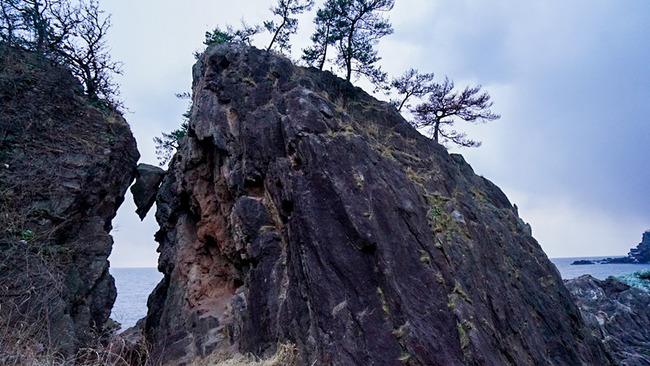 弁慶のはさみ岩