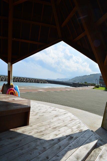 佐渡城が浜海水浴場2