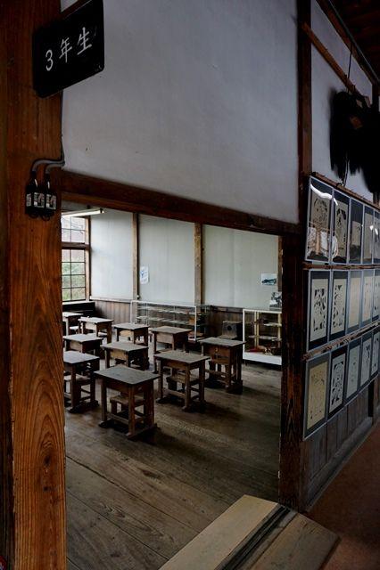 佐渡國小木民俗博物館旧宿根木小学校3年教室5