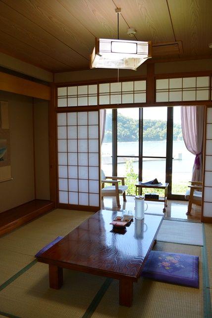 佐渡海府荘客室