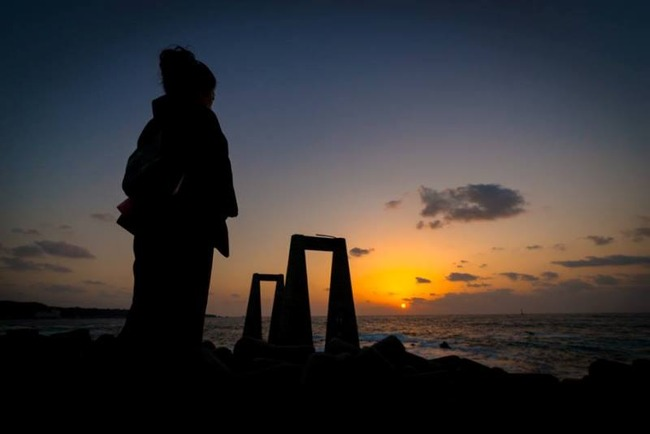 佐渡の四季+α大間港夕陽フォトウォークなぐ