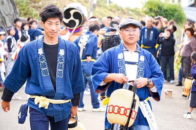 善知鳥神社相川まつり13