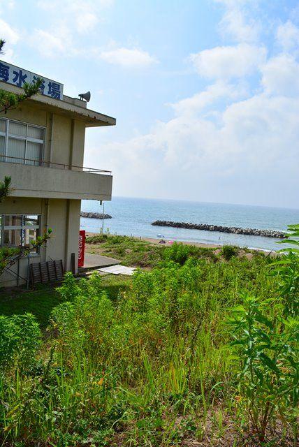 佐渡素浜海水浴場1