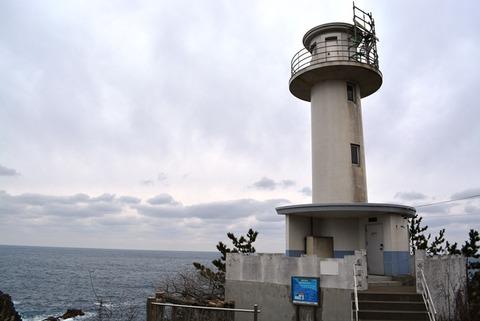 佐渡尖閣湾灯台