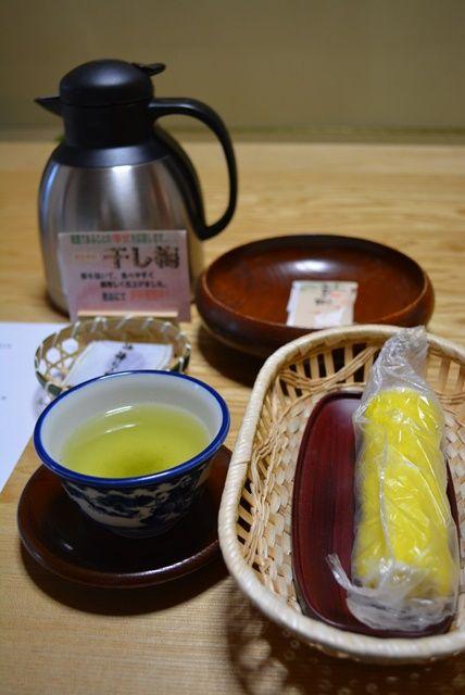 佐渡ホテル万長お茶セット