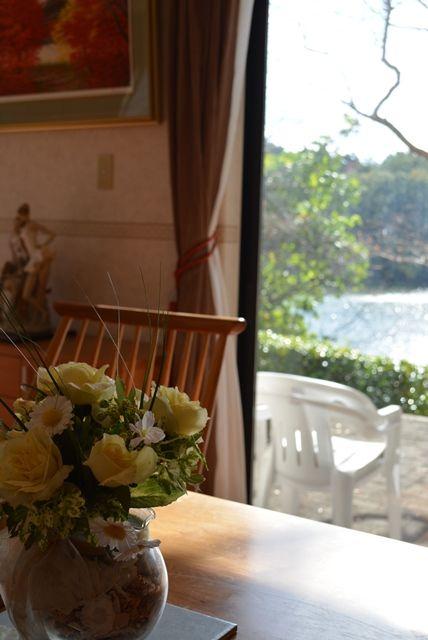 佐渡緑水テーブルからの眺め