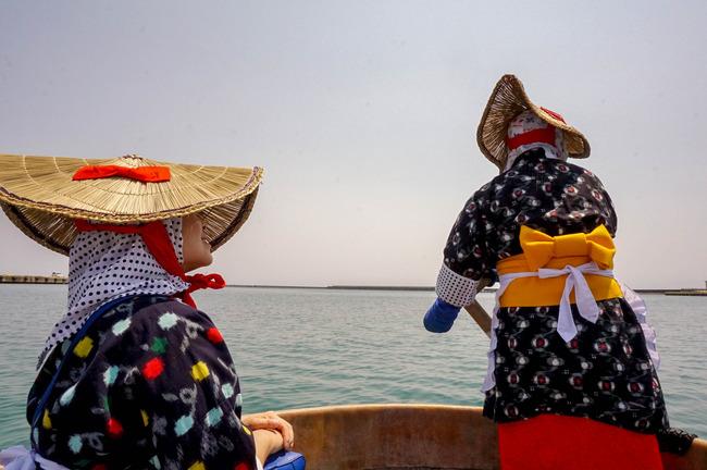 力屋観光たらい舟船頭1