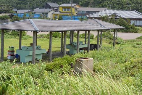 入崎海水浴場キャンプ場