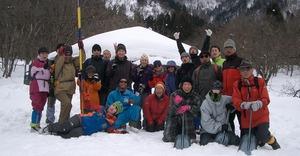 スノートレッキング講習会