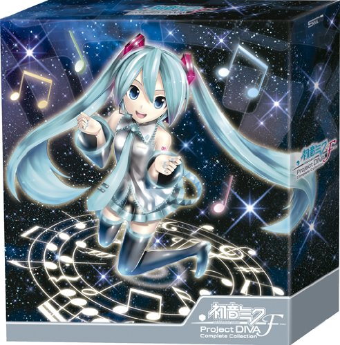 初音ミク-Project DIVA-F Complete Collection(初回生産限定盤)(Blu-ray Disc付) [CD+Blu-ray, Limited Edition]