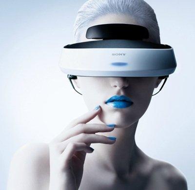"""ソニー 3D対応ヘッドマウントディスプレイ """"Personal 3D Viewer""""SONY HMZ-T2"""