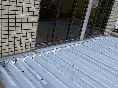 佐賀市 壁周りからの雨漏り 2