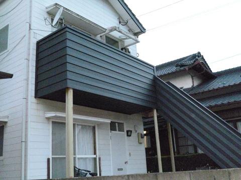 コーポ 階段外壁改修