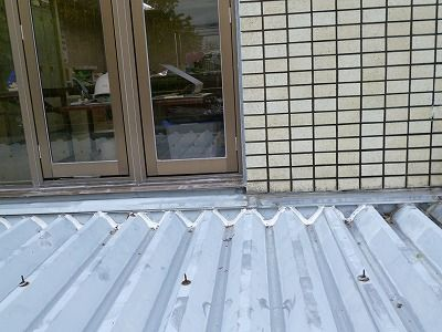佐賀市 壁周りからの雨漏り 3