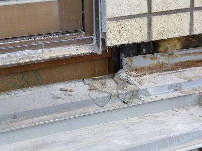 佐賀市 壁周りからの雨漏り 4