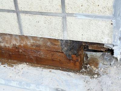 佐賀市 壁周りからの雨漏り 5