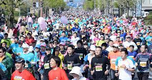 桜マラソン1