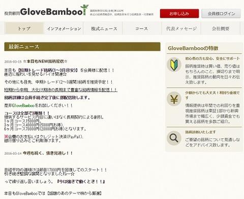 Glove Bamboo(グローブバンブー)