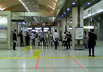 20060928東京駅京葉線改札
