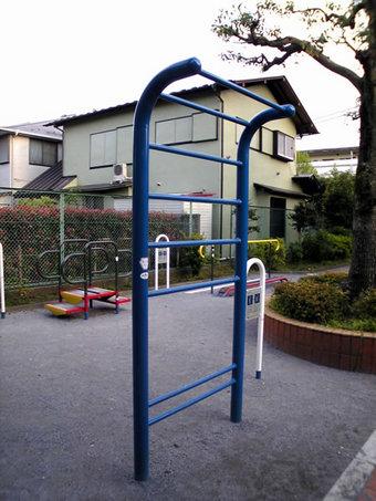 20100424 鷺宮6丁目 鷺六公園 健康づくり 中野区 健康器具