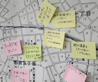 20081019鷺ノ宮・都立家政まちづくり展示