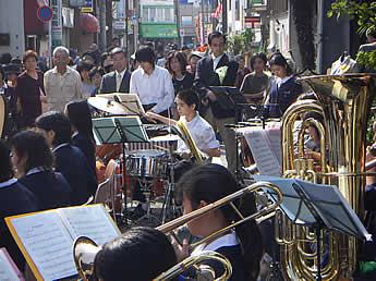 20061029中野八中吹奏楽部 パーカス