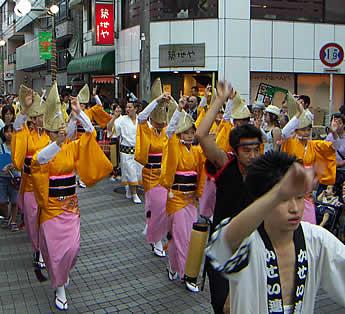 2006年の都立家政阿波踊り