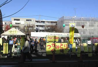 20091220富士見台駅北口広場