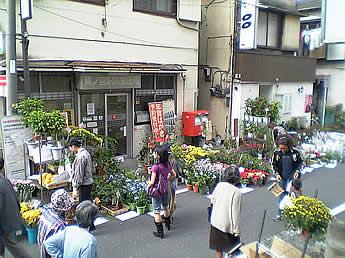 20061028鷺宮地区まつり 花屋