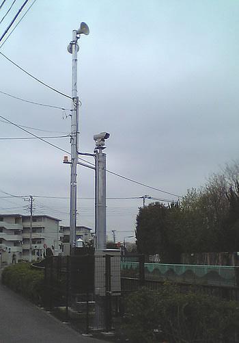 鷺宮:河川監視警報装置