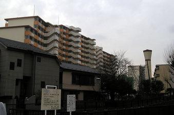 20100214 鷺宮住宅 都営 団地 妙正寺川 中野区白鷺