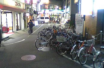 20061103鷺ノ宮駅前